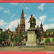 Postales: 5438 BELGIQUE BELGIE BELGIUM ANVERS PLACE VERT STATUE DE RUBENS ANTWERPEN GROENPLAATS RUBENSSTANDBEE. Lote 126498139