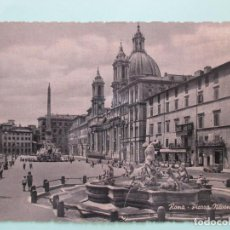 Postales: 5537 ITALIA ITALIE ITALY LAZIO ROMA ROME PIAZZA NAVONA. Lote 126817111