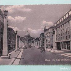 Postales: 5541 ITALIA ITALIE ITALY LAZIO ROMA ROME VIA DELLA CONCILIAZIONE. Lote 126817815