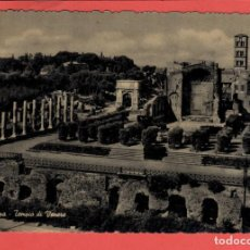 Postales: 5544 ITALIA ITALIE ITALY LAZIO ROMA ROME TEMPIO DI VENERE. Lote 126818563