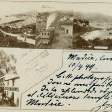 Postales: PORTUGAL. MADEIRA. CIRCULADA EN 1899.. Lote 127301027