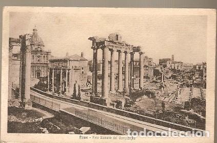 ITALIA & CIRCULADO, FORO ROMANO DEL CAMPIDOGLIO, IRLANDA 1921 (4333) (Postales - Postales Extranjero - Europa)