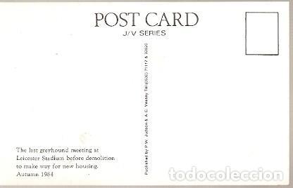 Postales: Inglaterra ** & Carrera de Galgos, Leicester Stadium 1984 (397) - Foto 2 - 127979395