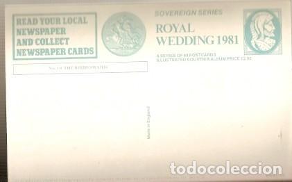 Postales: Inglaterra ** & La Familias Reale, Serie Sovereign, Las damas 1981 (18) - Foto 2 - 127979399