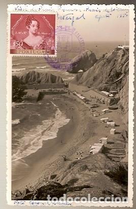 PORTUGAL & PRAIA DE SANTA CRUZ, VISTA DE LA PLAYA DE FORMOSA, TORRES VEDRAS, 1954 (3557) (Postales - Postales Extranjero - Europa)