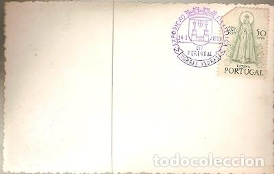 Postales: Portugal & Praia de Santa Cruz, Vista de la Playa de Formosa, Torres Vedras, 1954 (3557) - Foto 2 - 127979467