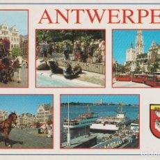 Postales: ANTWERPEN. AMBERES (BELGICA) . . Lote 128028683