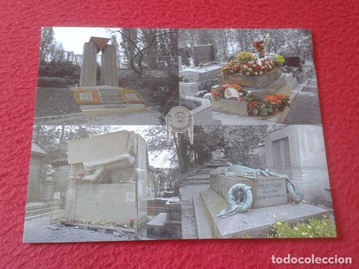 POSTAL POST CARD PÈRE LACHAÍSE CEMENTERY CEMENTERIO PARÍS JEWISH HOLOCAUST OSCAR WILDE HOLOCAUSTO... (Postales - Postales Extranjero - Europa)