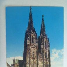 Postales: POSTAL DE ALEMANIA : DER DOM / KÖLN AM RHEIN . AÑOS 60.. Lote 128146639