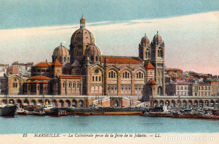 MARSELLA (MARSEILLE). LA CATHEDRALE. EDITADA POR LEVI FILLS & CIE. PARIS (Postales - Postales Extranjero - Europa)
