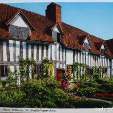 Postales: POSTAL. MARY ARDEN'S HOUSE. WILMCOTE. ED. JOHN HINDE. ESCRITA. . Lote 128862939