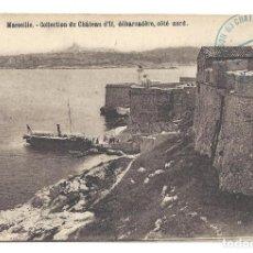 Postales: ANCIENNE POSTALE MARSEILLE.- COLLECTION DU CHÂTEAU D'IF, DÉBARCADÈRE. FRANCE- FRANCIA. Lote 129079023