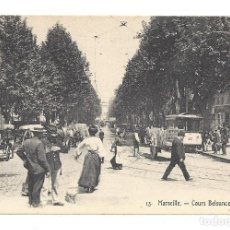 Postales: ANCIENNE POSTALE MARSEILLE.- Nº 13, COURS BELSUNCE. FRANCE- FRANCIA . Lote 129080603