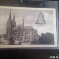 Postales: KOLN DER DOM,DEUTSCHE GLAKE AM RHEIN,1934. Lote 129170323