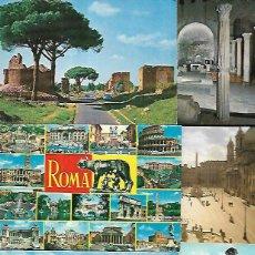 Postales: 90 POSTALES * ROMA * LOTE Nº 202. Lote 129171475