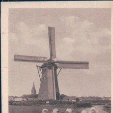 Postales: POSTAL HOLANDA - MOLINO NL PAYS BAS - ZEELAND - WALCHEREN - MOULIN À VENT - ANIMÉE - BELLE. Lote 130091007