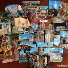 Postales: LOTE DE 28 POSTALES DE ROMA Y 7 POSTALES DEL VATICANO SIN CIRCULAR. Lote 130267774