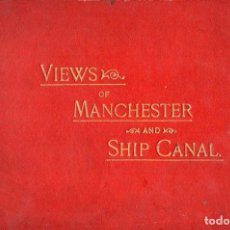 Postales: VIEWS OF MANCHESTER AND SHIP CANAL - ROBERT BANKS PHOTOGRAPHER, MAY 1900. Lote 130588418