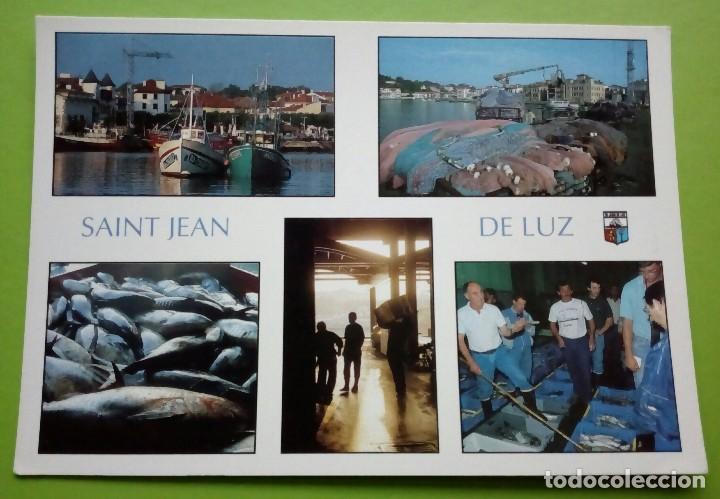 POSTALE DE FRANCE. SAINT JEAN DE LUZ. LE PORT (Postales - Postales Extranjero - Europa)