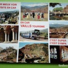Postales: POSTALE DE FRANCE, PROMENADES EN ROYSSILON AVEC VAILLS TOURISME. Lote 130837880