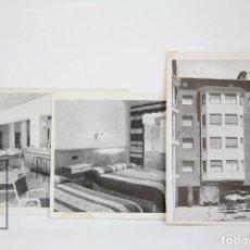 Postales: 3 POSTALES PUBLICITARIAS - HOTEL CONSUL - ANDORRA LA VELLA - AÑOS 60. Lote 131151000