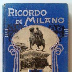 Postales: ANTIGUA CARTERITA CON 32 VISTAS DE ITALIA.. Lote 131862870