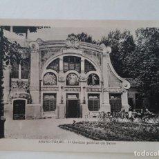 Postales: ABANO TERME PADOVA ITALIA, TEATRO Y GIARDINO ANTIGUO. Lote 132179878