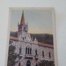Postales: ABANO TERME, FACHADA DE MONTEORTONE, PADOVA, ITALIA. Lote 132180190