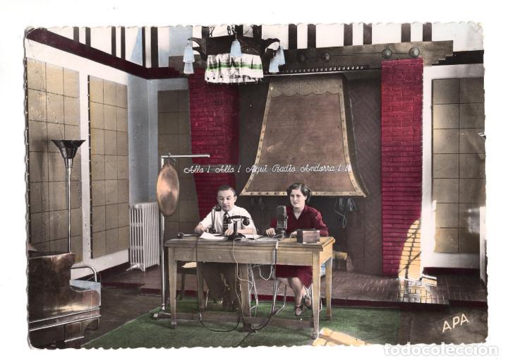 VALLS D'ANDORRA. ANDORRA LA VELLA. GRAN STUDI DE RADIO ANDORRA. (Postales - Postales Extranjero - Europa)