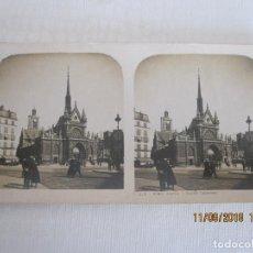 Postales: ANTIGUA FOTO POSTAL ESTEREOSCOPICA PARIS FRANCIA . Lote 133292750