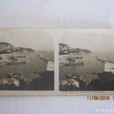 Postales: ANTIGUA FOTO POSTAL ESTEREOSCOPICA NIZA FRANCIA . Lote 133293090