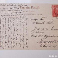 Postales: EXTRAORDINARIO LOTE 44 POSTALES ENVIADAS AL JEFE GUARDIA URBANA BARCELONA. Lote 133445654