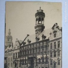 Postales: ANTIGUA POSTAL MONS - L'HOTEL DE VILLE, CIRCULADA AÑO 1903. Lote 133555598