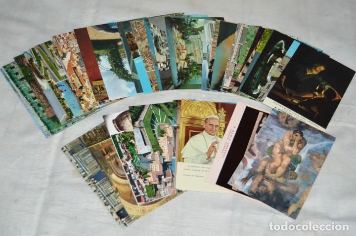GRAN LOTE DE POSTALES SIN CIRCULAR - ITALIA, ROMA, VATICANO Y OTROS - MIRA LAS FOTOS - ENVÍO 24H (Postales - Postales Extranjero - Europa)