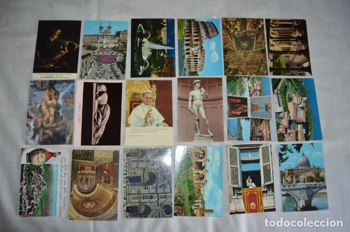 Postales: GRAN LOTE DE POSTALES SIN CIRCULAR - ITALIA, ROMA, VATICANO Y OTROS - MIRA LAS FOTOS - ENVÍO 24H - Foto 2 - 133618810