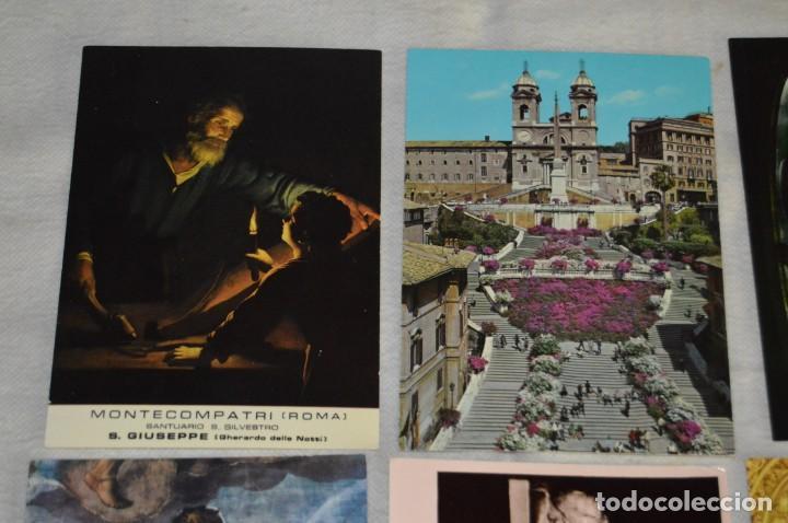 Postales: GRAN LOTE DE POSTALES SIN CIRCULAR - ITALIA, ROMA, VATICANO Y OTROS - MIRA LAS FOTOS - ENVÍO 24H - Foto 3 - 133618810