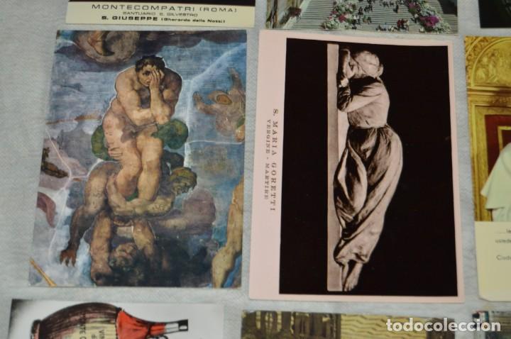 Postales: GRAN LOTE DE POSTALES SIN CIRCULAR - ITALIA, ROMA, VATICANO Y OTROS - MIRA LAS FOTOS - ENVÍO 24H - Foto 8 - 133618810