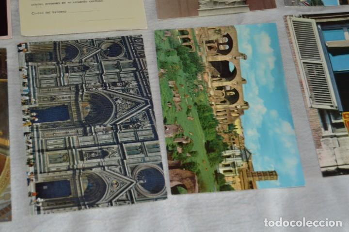 Postales: GRAN LOTE DE POSTALES SIN CIRCULAR - ITALIA, ROMA, VATICANO Y OTROS - MIRA LAS FOTOS - ENVÍO 24H - Foto 10 - 133618810