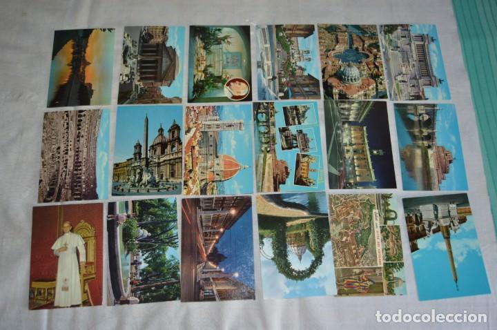 Postales: GRAN LOTE DE POSTALES SIN CIRCULAR - ITALIA, ROMA, VATICANO Y OTROS - MIRA LAS FOTOS - ENVÍO 24H - Foto 12 - 133618810