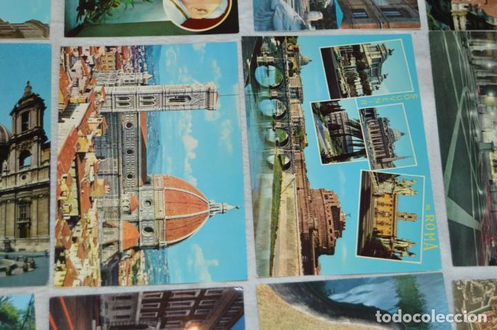 Postales: GRAN LOTE DE POSTALES SIN CIRCULAR - ITALIA, ROMA, VATICANO Y OTROS - MIRA LAS FOTOS - ENVÍO 24H - Foto 17 - 133618810