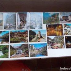 Postales: 16 POSTALS ORIGINALS D'ANDORRA ANYS ¨60¨, TOTES DIFERENTS. Lote 133628382