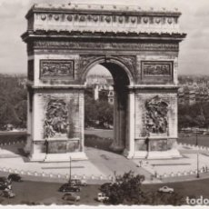 Postales: FRANCIA PARIS ARCO DE TRIUNFO 1962 POSTAL CIRCULADA. Lote 133631550