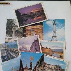 Postales: LOTE 10 POSTALES FRANCIA. Lote 127191995