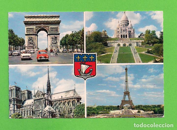 POSTAL - ARCO DE TRIUNFO - PARIS - FRANCIA - (Postales - Postales Extranjero - Europa)