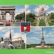 Postales: POSTAL - ARCO DE TRIUNFO - PARIS - FRANCIA -. Lote 133975974