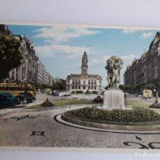 Postales: PORTUGAL- PORTO - AVENIDA DOS ALIADOS. Lote 134049830