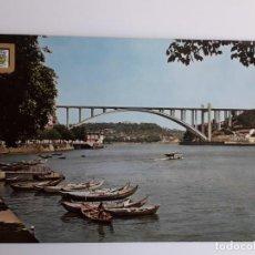 Postales: PORTUGAL - PORTO - PONTE DA ARRÁBIDA. Lote 134050278