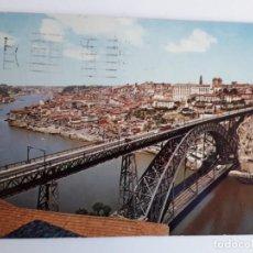 Postales: PORTUGAL - PORTO - PONTE D. LUIS E VISTA PARCIAL DA CIDADE. Lote 134050374