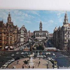 Postales: PORTUGAL - PORTO - PRAÇA DA LIBERDADE E AVENIDA DOS ALIADOS. Lote 134050586