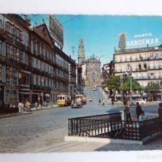 Postales: PORTUGAL - PORTO - PRAÇA DA LIBERDADE E TORRE DOS CLÉRIGOS. Lote 134050966